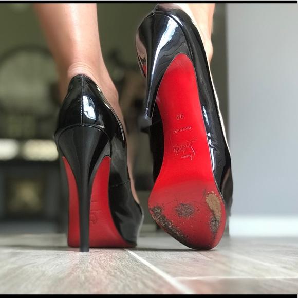 406db93aeb0 Christian Louboutin Shoes - Christian Louboutin Prive Peep Toe Pumps size 39